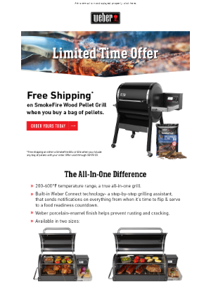 Weber - Ready to Upgrade to a New SmokeFire Wood Pellet Grill?