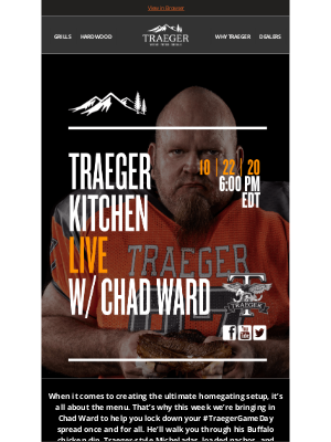 Traeger Grills - The Ultimate Homegating Menu