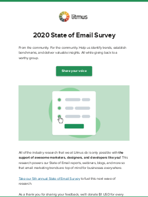 🔈 Sound off in our State of Email survey 🔈