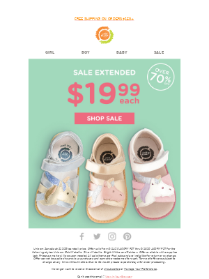 Livie & Luca - Sale Extended: 🦄 70% Off Unicorn Sandals