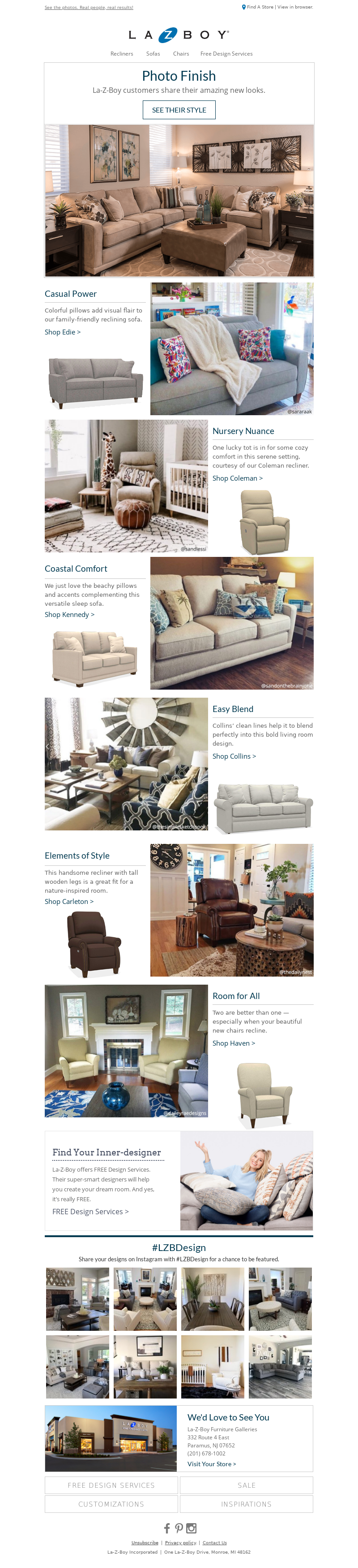 La-Z-Boy - Amazing! See 7 Customer Room Reveals.