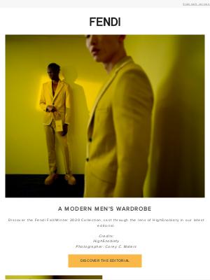 Fendi (UK) - A Modern Men's Wardrobe