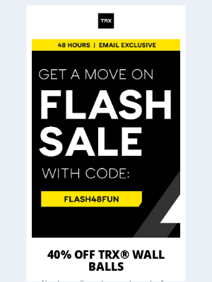 TRX Training - Race to the Finish—FLASH SALE ENDS SOON 🏃♀️
