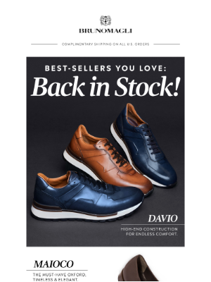 Bruno Magli - Best-Sellers You Love: Back in Stock!