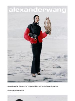 Alexander Wang - fleece formal