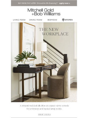 MGBWhome - Spruce up your WFH space