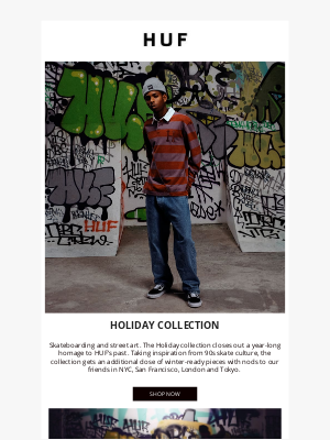 HUF Worldwide - Holiday 20 Collection // Now Available