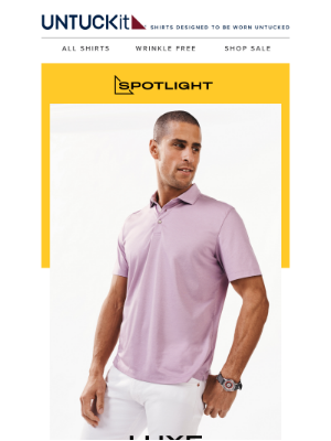 UNTUCKit - Your Favorite Polo Got An Upgrade