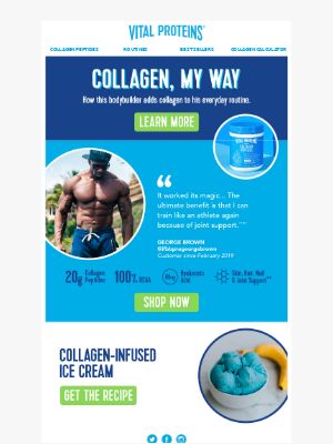 How This Bodybuilder Uses Collagen Every Day 💪