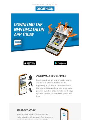 Decathlon (UK) - Introducing... The Decathlon App!