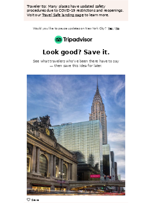 TripAdvisor - Grand Hyatt New York update