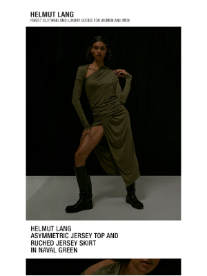 HELMUT LANG - Shop The Latest A/W 2020 New Arrivals for Women