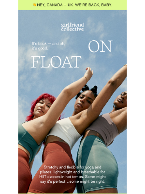 Girlfriend Collective - FLOAT. IS. BACK.