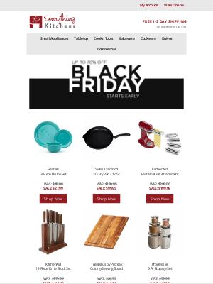 Everything Kitchens - Black Friday Starts EARLY!