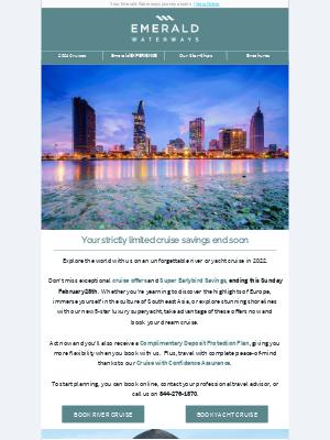 Emerald Waterways - Your award-winning river or yacht cruise