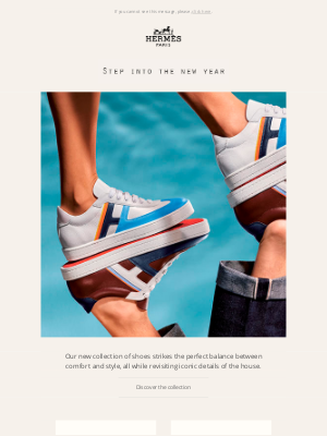 Hermes (UK) - Step into the new year