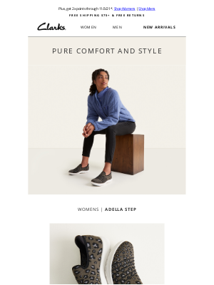 Clarks Shoes - Athleisure styles made for life-on-the-go
