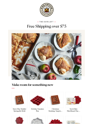King Arthur Flour - Free Shipping on Your Order of $75+
