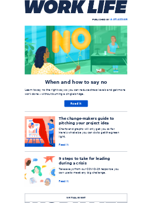 Atlassian - Learn how to say no, and feel good about it