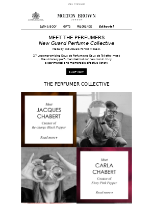 Let Us Introduce You: Our Iconic Perfumers
