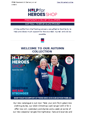 Help For Heroes - NEW Collection   FREE UK P&P   3 for 2 on Xmas Cards