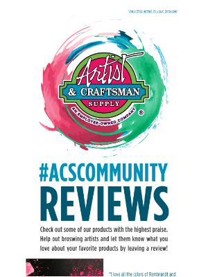 What are #ACScommunity's favorite products?