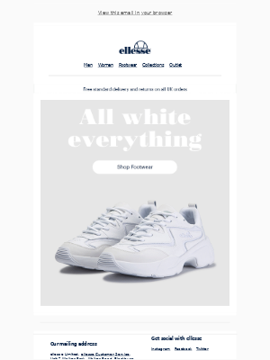 ellesse - Fresh White Footwear