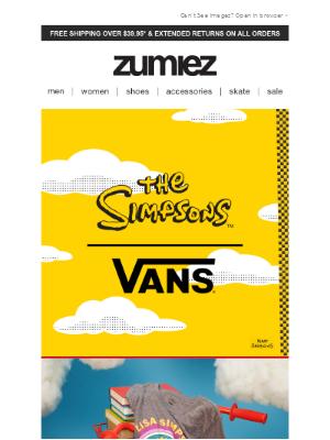 Zumiez - 🚀 LAUNCH // VAN x THE SIMPSONS