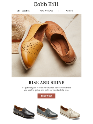 Rockport Company - In the Limelight: Our New Arrival