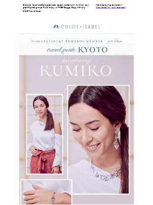 Modern Metallics Meet Kyoto + Free Gift with Purchase!