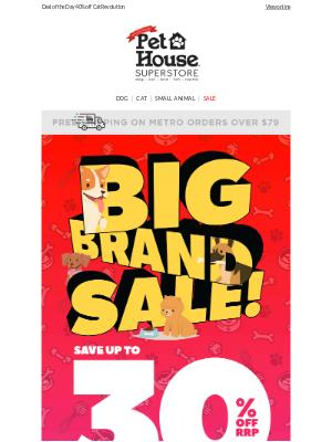 Pet House (AU) - Top 9 Big Brands | Savings Not To Miss!