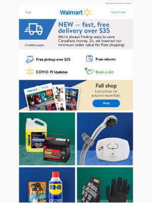 Walmart (CA) - Fall car care 🚗🧰