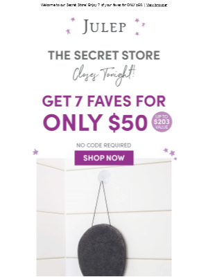 There's *still* time left to shop the Secret Store!