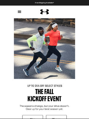 Under Armour - 💪 Up to 25% off select gear