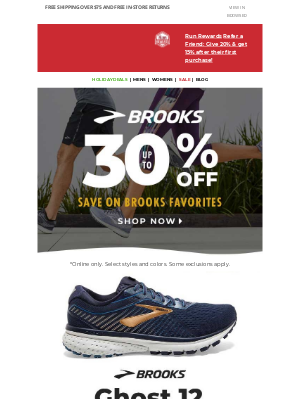 Jackrabbit - MAJOR savings on the Brooks Ghost 12 & more!