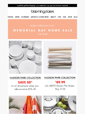 Don't miss our top Memorial Day home deals
