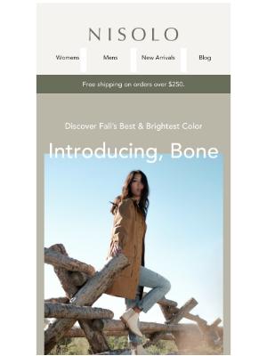 Nisolo - Fall's New Hue: Bone