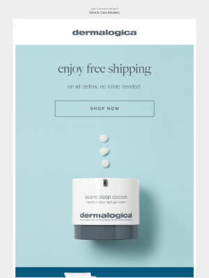 Dermalogica - This weekend only, free shipping on everything