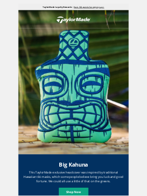 TaylorMade Golf - Hawaii-Inspired Big Kahuna Headcover