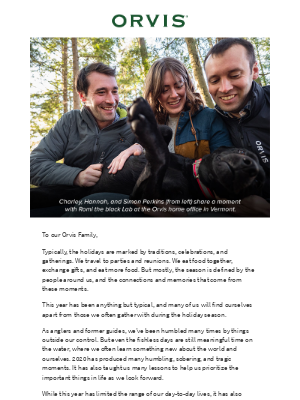 Orvis - A personal message from the Perkins Family.