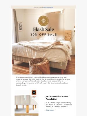 Zinus - Get 30% off the Justina award winning mattress foundation