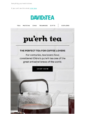 DAVIDsTEA - We're demystifying one of the rarest tea types!