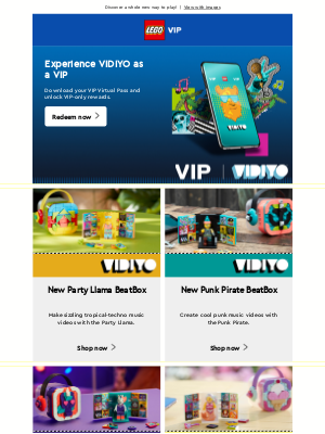 LEGO - Capture the beat of your world with new LEGO® VIDIYO™