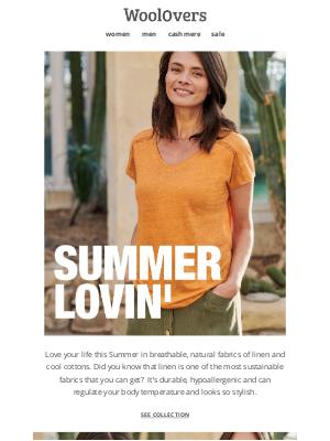 WoolOvers (UK) - Love Summer Linen.