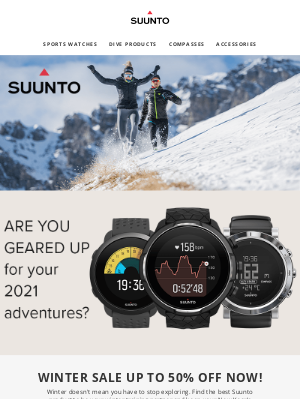 suunto - Winter  Sale up to 50% off now!