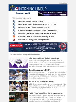 Mlbshop - MLB's next phenom debuts tonight