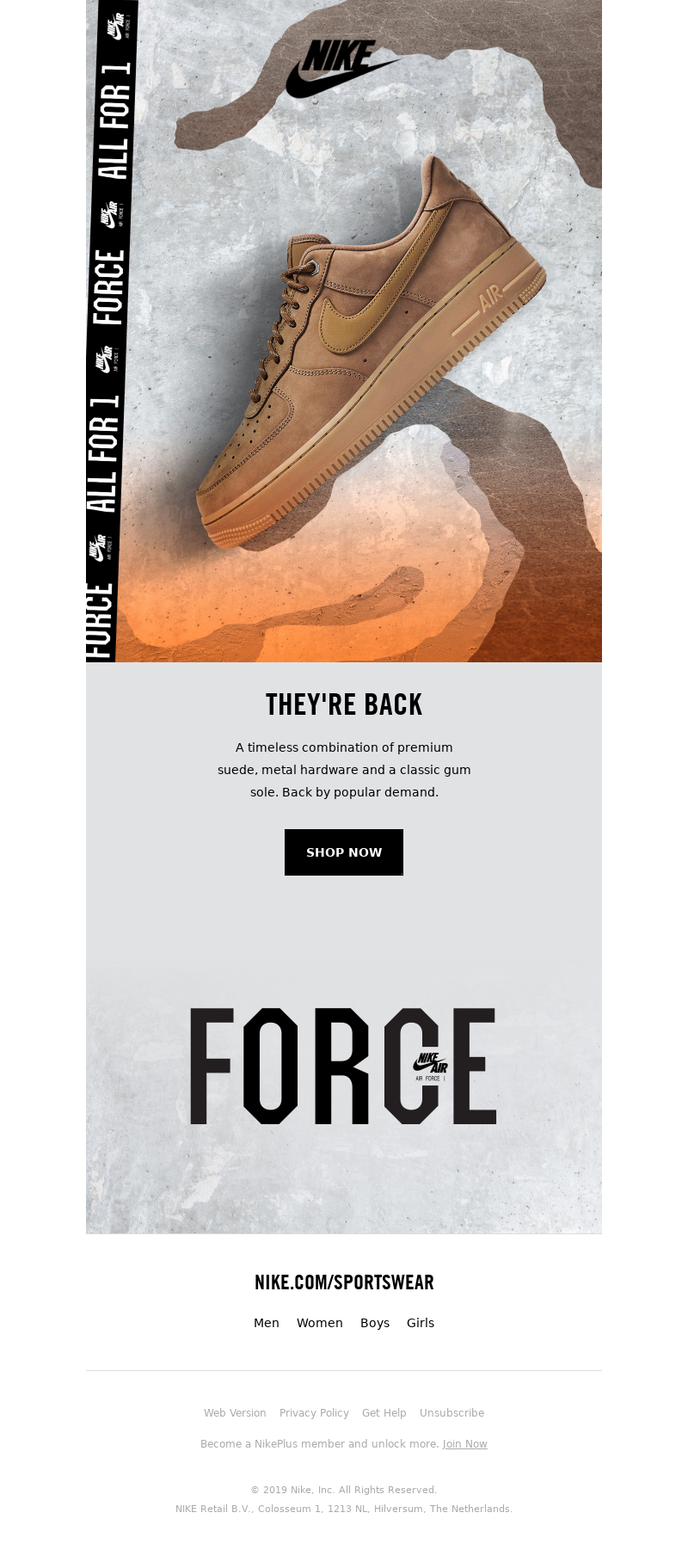 Nike (Australia) - Air Force 1 'Flax'