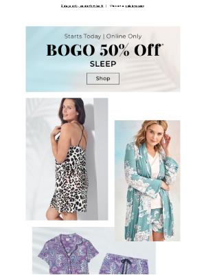 Starts NOW! BOGO 50% off