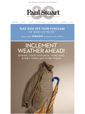 All-Weather Outerwear
