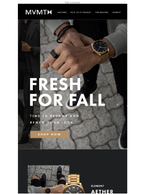MVMT Watches - What to wear this fall 🍂 🍁